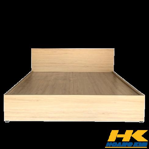 Giường Ngủ Gỗ MDF Melamine  Bệt Màu Vàng HK 388