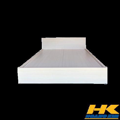 Giường Ngủ Gỗ MDF Melamine Màu Vân Lim HK 240
