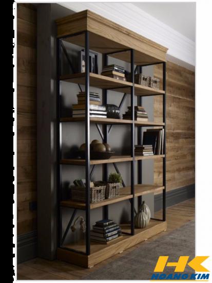 Kệ trang trí gỗ cao cấp
